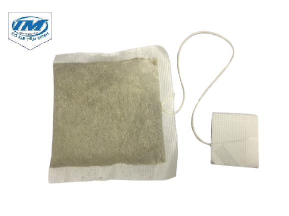 máy có thể đóng gói sản xuất ra túi lọc có tem và chỉ