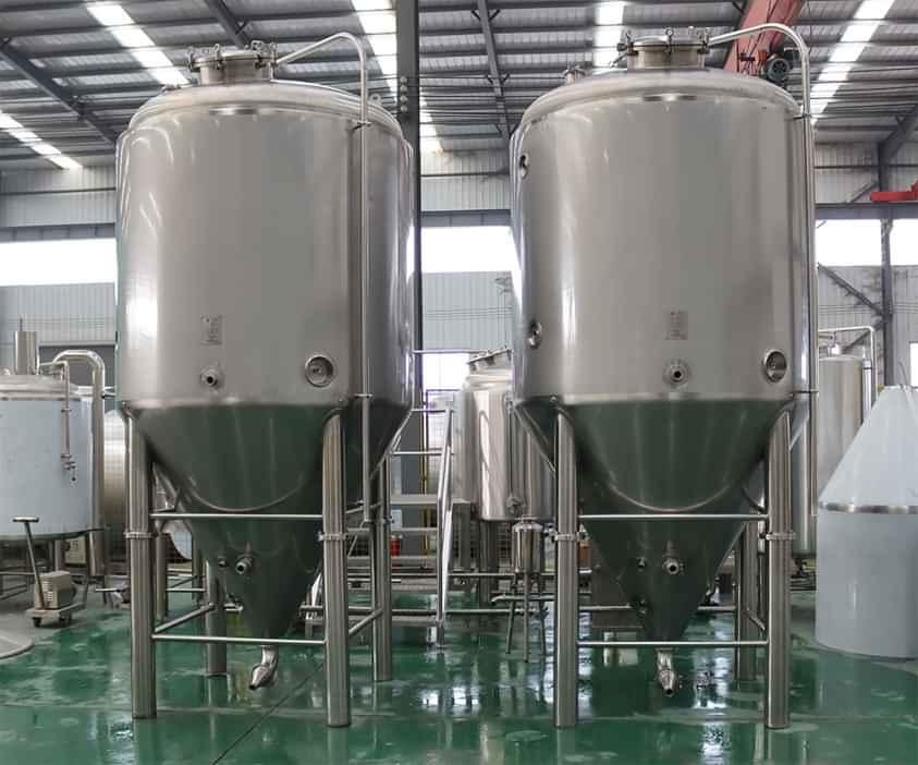 bồn chứa công nghiệp dung tích lớn, chất liệu inox 304