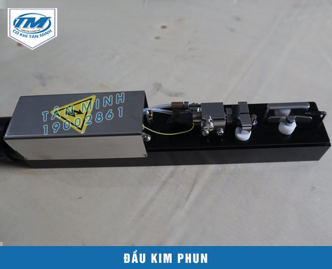 Bộ kim phun tự động có cấu tạo đơn giản dễ sửa chữa tháo lắp