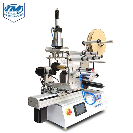 máy dán nhãn bán tự động nhỏ gọn và tiện dụng cho gia đình và cơ sở nhỏ lẻ